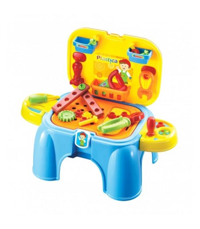 """Vaikiška įrankių dėžė - kėdė """"Meistrelis"""""""