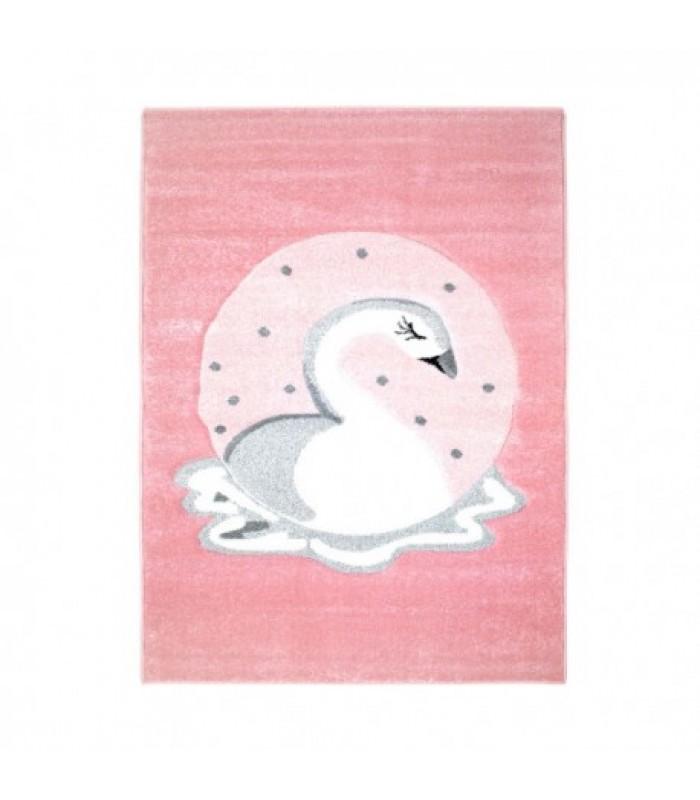 """Vaikiškas kilimas """"Rožinė gulbė"""""""