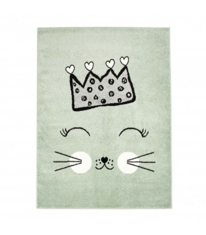 """Žalsvas  kilimas """"Katytė princesė"""""""