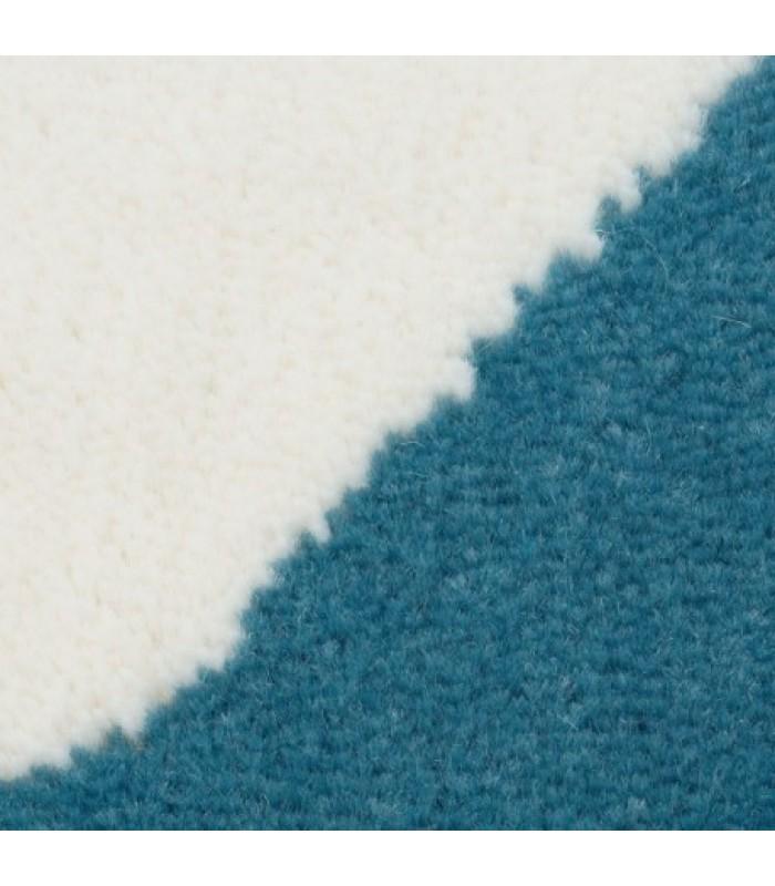 Mėlynas kilimas su žvaigždėmis
