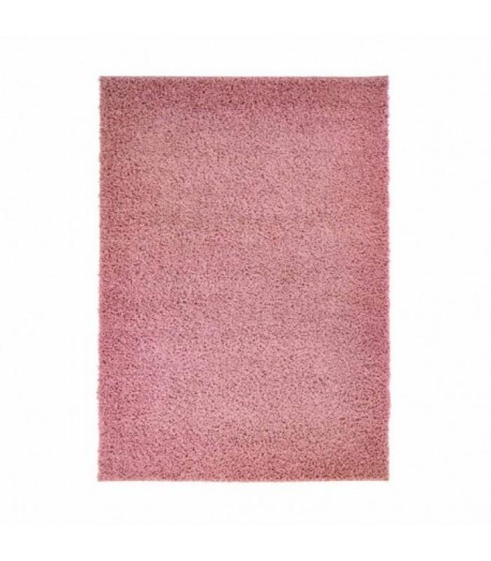 """Rožinis minkštas kilimas """"Shaggy"""""""