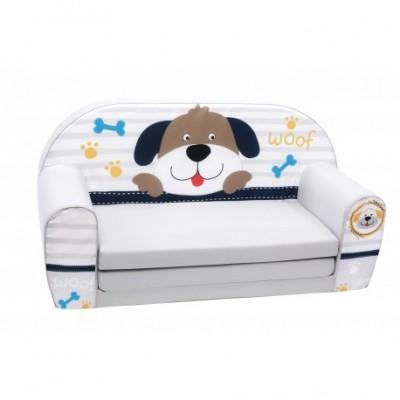"""Vaikiška minkšta sofa - """"Šunelis"""""""