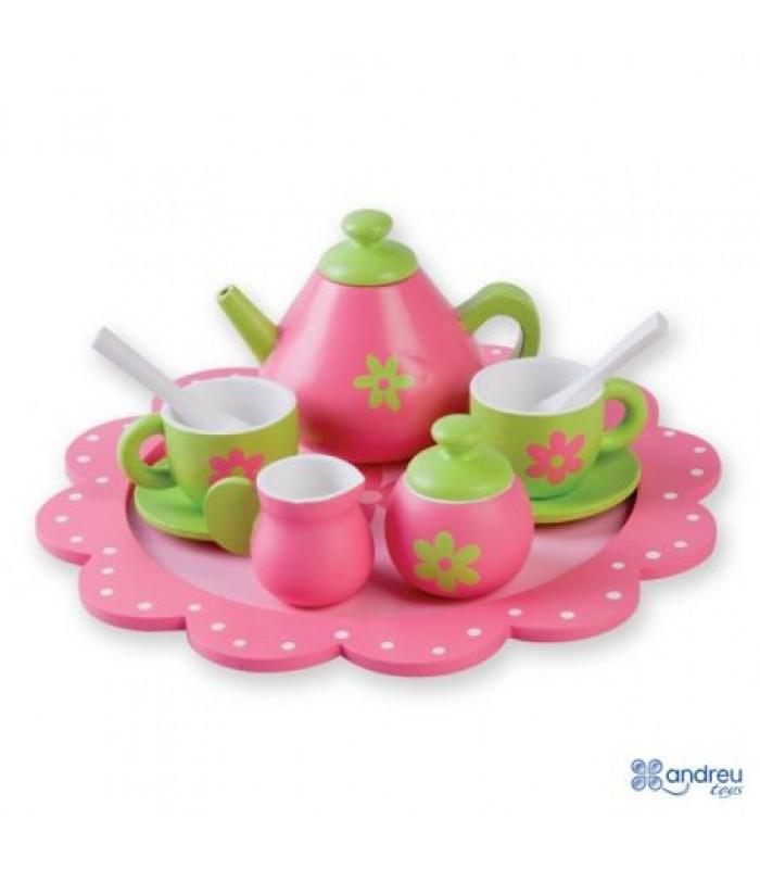 Medinis arbatos gėrimo rinkinys