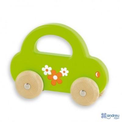 Žalia medinė mašinėlė