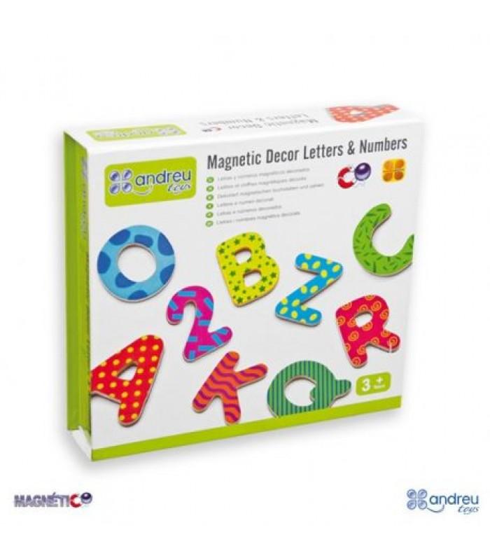 Magnetinės raidelės ir skaičiai