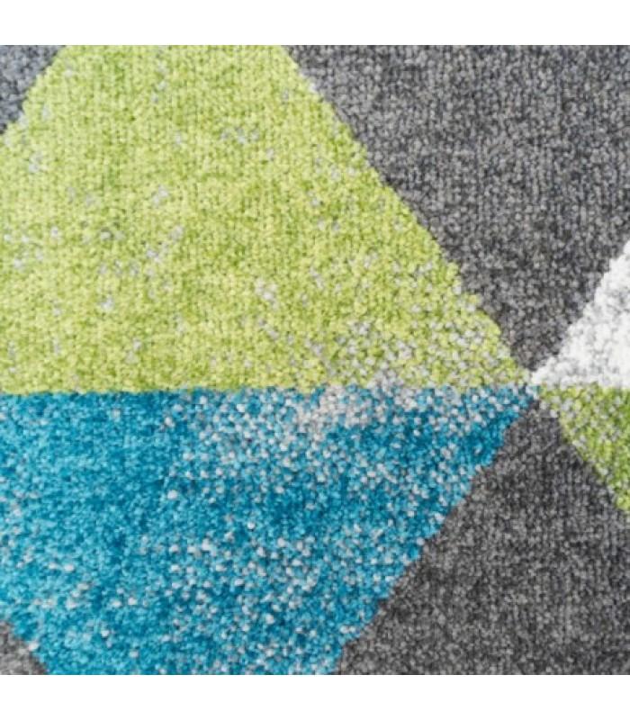 Pilkas kilimas su rombais (keli dydžiai)