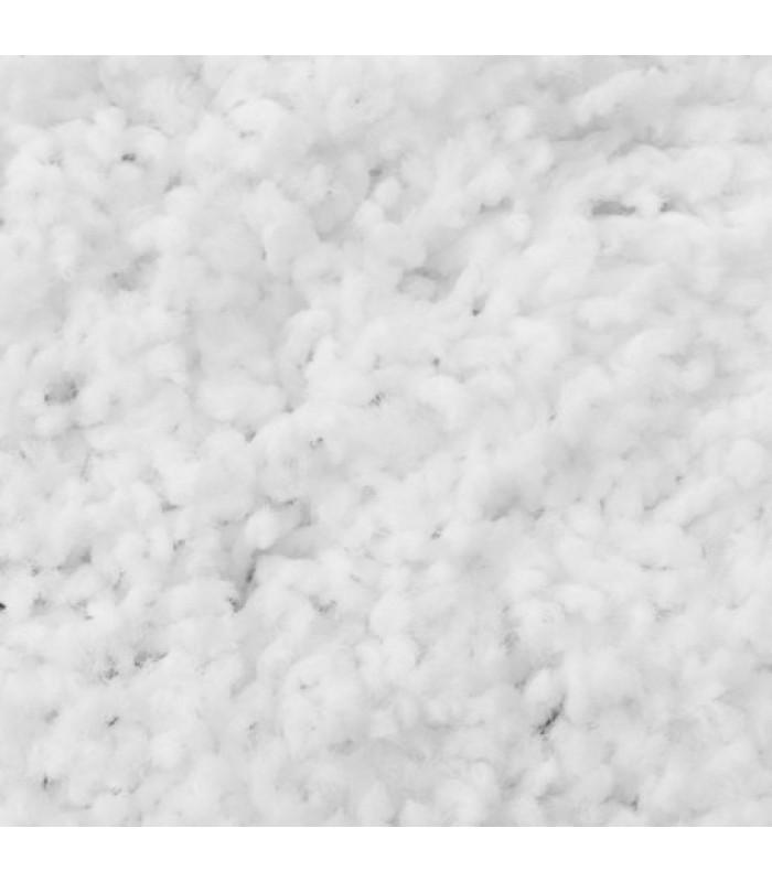 """Baltas švelnus vaikiškas kilimas - """"Shaggy Uni"""""""