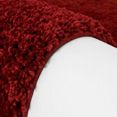 """Raudonas vaikiškas kilimas - """"Shaggy uni"""""""