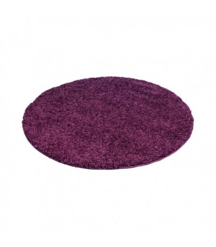 """Violetinis kilimas vaikų kambariui - """"Shaggy uni"""""""