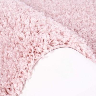 """Rožinis kilimas vaikų kambariui - """"Shaggy uni"""""""