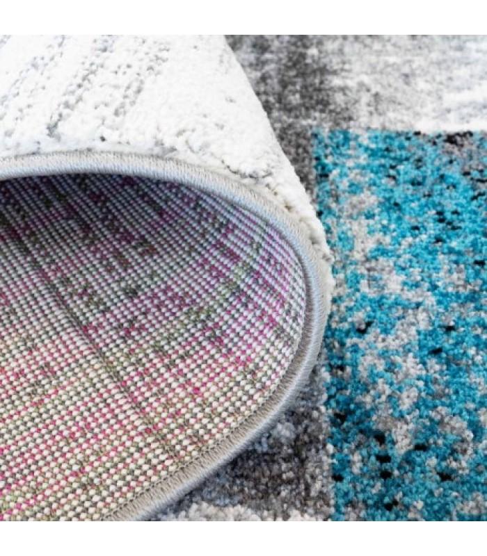 """Mėlyno atspalvio vaikiškas kilimas - """"Moda soft"""""""