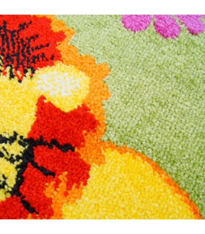 """Spalvingas vaikiškas kilimas - """"Zoo"""""""