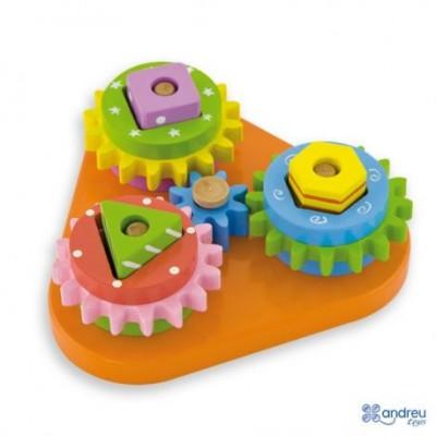 Lavinamasis medinis žaislas 18mėn+