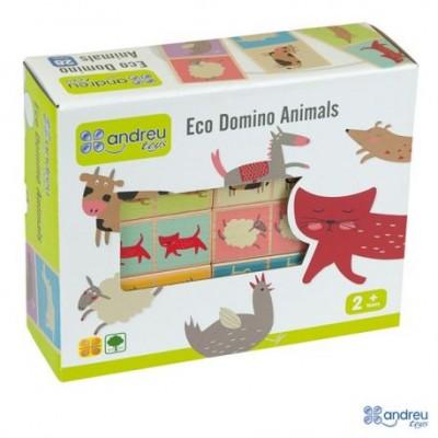"""Eko Domino žaidimas """"Gyvūnai"""" 2+"""
