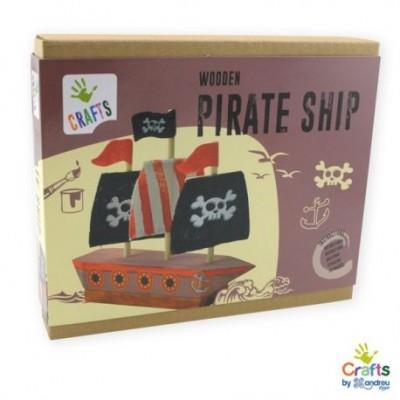 """Rinkinys """"Pasidaryk piratų laivą"""""""