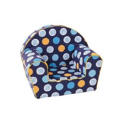 """Vaikiškas foteliukas """"Mėlynas"""""""