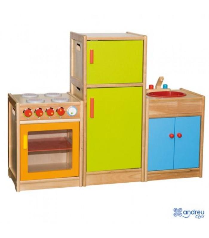 Medinė virtuvėlė