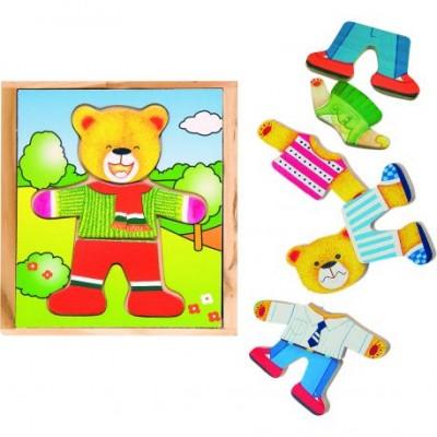 """Dėlionė - aprenk mane """"Teddy Bear"""""""