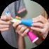 PLAYBRUSH - išmanusis dantukų valymo įrenginys