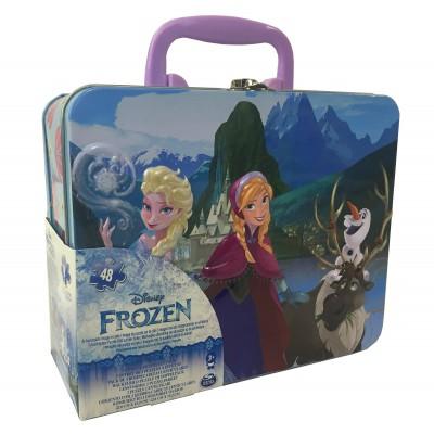 CARDINAL GAMES dėlionė 3D 48d. metalinėje dėž. Frozen, 6033102