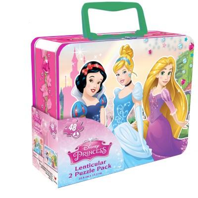 CARDINAL GAMES dėlionė 3D 48d. metalinėje dėž. Disney Princess, 6033105