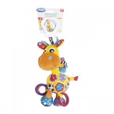 PLAYGRO pakabinamas žaislas Žirafa Jerry, 0186359