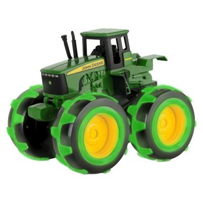 JOHN DEERE traktorius su šviečiančiais ratais Monster, 46434