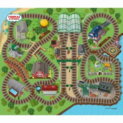 TCG žaidimo kilimėlis su mašinėle Thomas & Friends Felt, 73704
