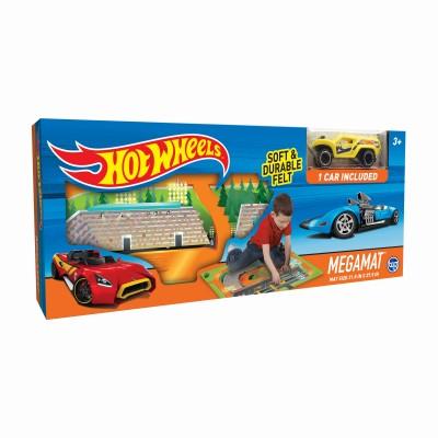 TCG žaidimo kilimėlis su mašinėle Hot Wheels Felt, 30744