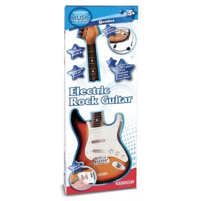 BONTEMPI elektroninė gitara su diržu ir mikrofonu, 24 1310