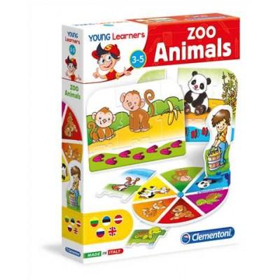 CLEMENTONI žaidimas Animals And Their Habit (LT+LV+EE+RU), 60489