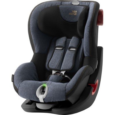 BRITAX automobilinė kėdutė KING II LS BLACK SERIES Blue Marble ZR, 2000027858/2000027857