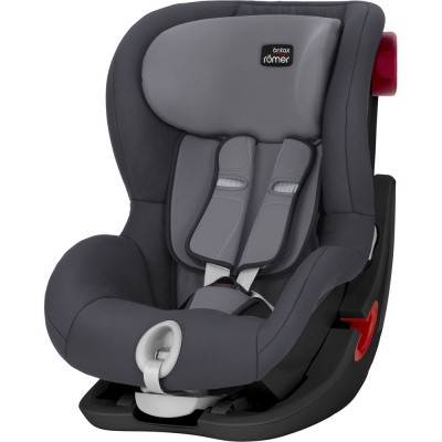BRITAX automobilinė kėdutė KING II BLACK SERIES Storm Grey ZR SB, 2000027559