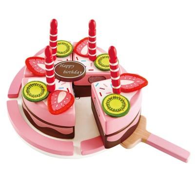 HAPE rinkinys Gimtadienio tortas, medinis, E3140