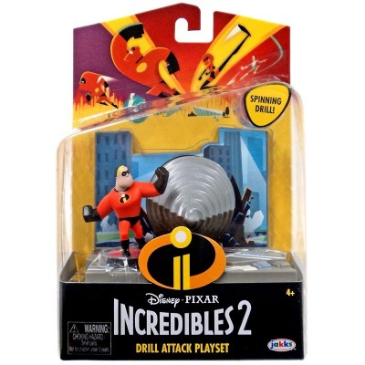 Incredibles figūrėlė Action Pack Mr. Incredible w/Accy, 74935