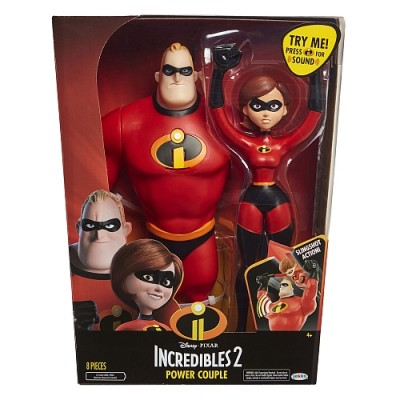 Incredibles figūrėlių rinkinys Mrs. & Mr. Incredible, 04508