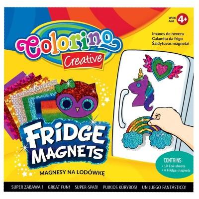 COLORINO CREATIVE šaldytuvo magnetukų rinkinys, 91411PTR