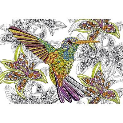 EDUCA spalvinimo dėlionė HUMMINGBIRD 300 vnt., 17083