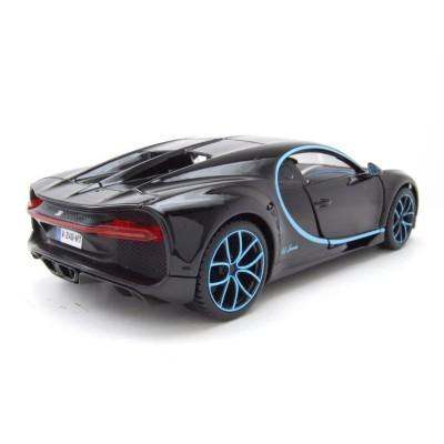 MAISTO DIE CAST juodas automobilis 1:24 Sp. Ed. Bugatti Chiron, 31514BK