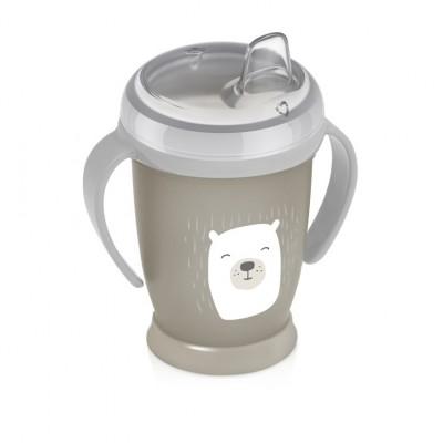 LOVI puodelis neišsipilantis 250 ml Junior Buddy Bear 35/344