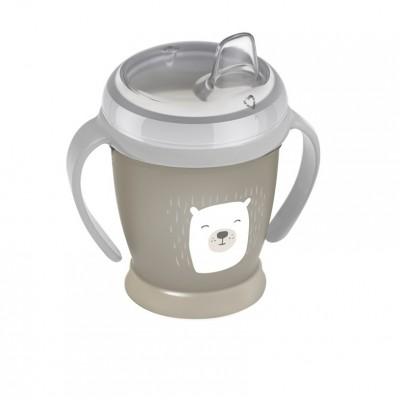 LOVI puodelis neišsipilantis 210 ml Mini Buddy Bear 35/349