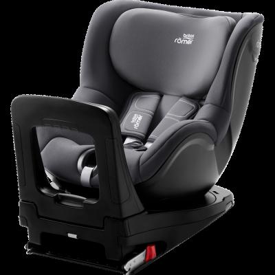 BRITAX automobilinė kėdutė DUALFIX M i-SIZE Storm grey 2000030114