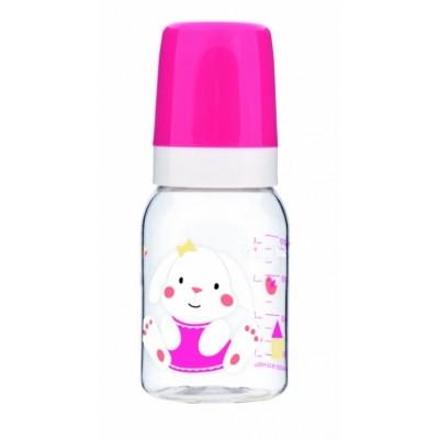 CANPOL BABIES buteliukas Africa 120ml 3m+ 11/850 pink