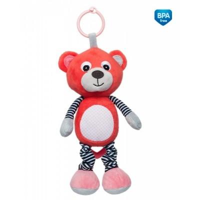 CANPOL BABIES pakabinamas muzikinis žaislas Bears Coral 68/053_cor