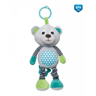 CANPOL BABIES pakabinamas muzikinis žaislas Bears Grey 68/053_grey