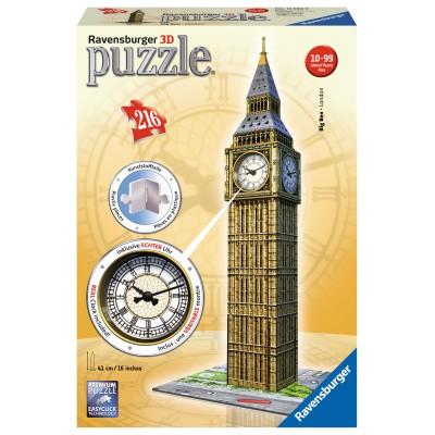 RAVENSBURGER dėlionė Big Ben su laikrodžiu 216 vnt., 12586