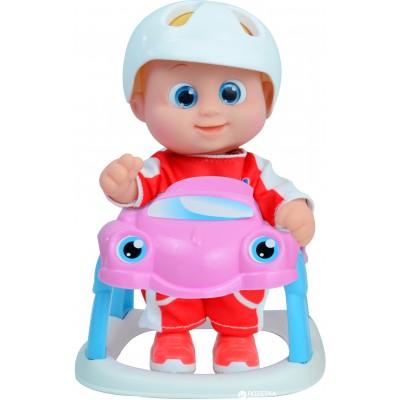 BOUNCIN BABIES lėlė Banielis super greitas savo mašinoje, vaikščiojanti, 16cm, 801001