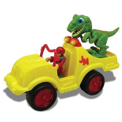 MEGASAUR JUNIOR dinozauro figūrėlės rinkinys su sukvežimiu, 16940