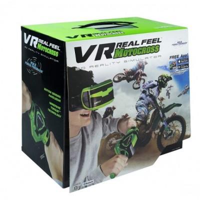 VR virtualios realybės akiniai VR Motocross, 66340