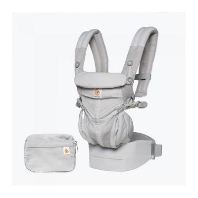 ERGOBABY nešioklė Omni 360 Cool Air Mesh Pearl Grey BCS360PGREY